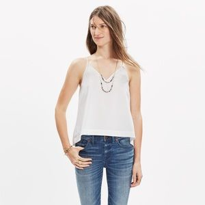 Madewell • Racerback Crop Patterned Camisole